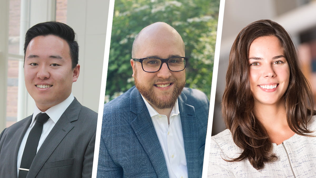Meet the talented and diverse new class joining Kellogg's Evening & Weekend Program, including Tony Zhu,Colby Pendley, and Monica Martens(E&W 2022).