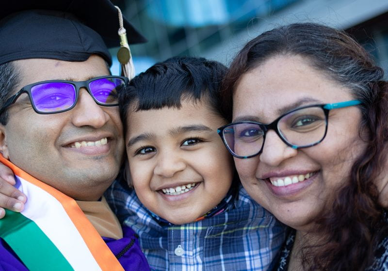 Rashmi Babtiwale (E&W 2021) and Nikhil Jalgaonkar (E&W 2020) share the journey of pursuing their MBAs together while managing their careers and family.