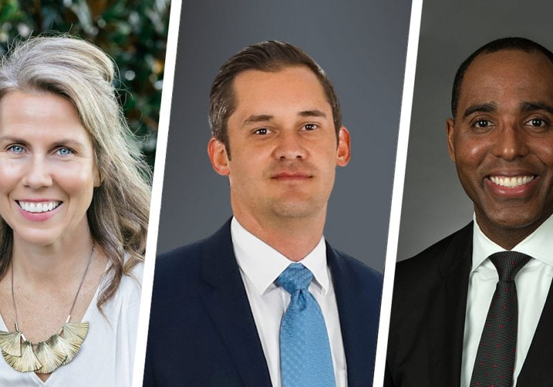Meet some of the talented leaders who recently joined Kellogg's EMBA Program, including Megan Wenrich, Brandon Standifird, and Bruce Plummer (EMBA 2022).