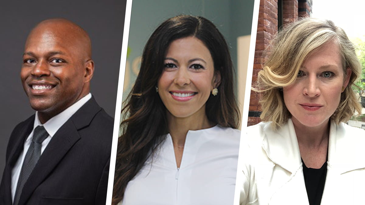 Meet some of the talented leaders who recently joined Kellogg's EMBA Program, including Chris Rose, Mira Albert, and Shalisa Kline Ugaz (EMBA 2022).