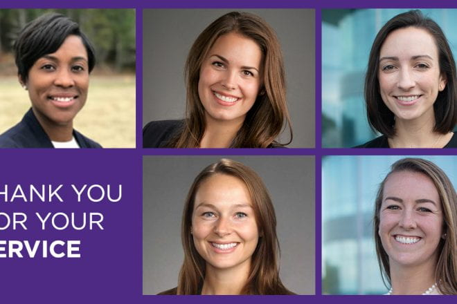 Hear reflections from some of our female veterans in the Full-Time Program on how their service experience shaped who they are as leaders today.
