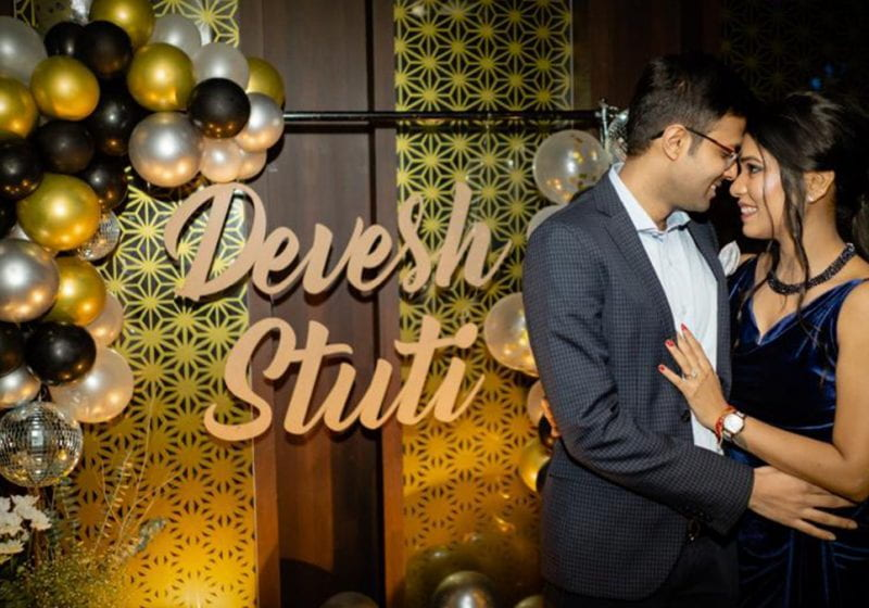 Devesh Jhunjhunwala (2Y 2021) shares the joys and occasional challenges of his nine-year, long-distance relationship with his JV, Stuti.