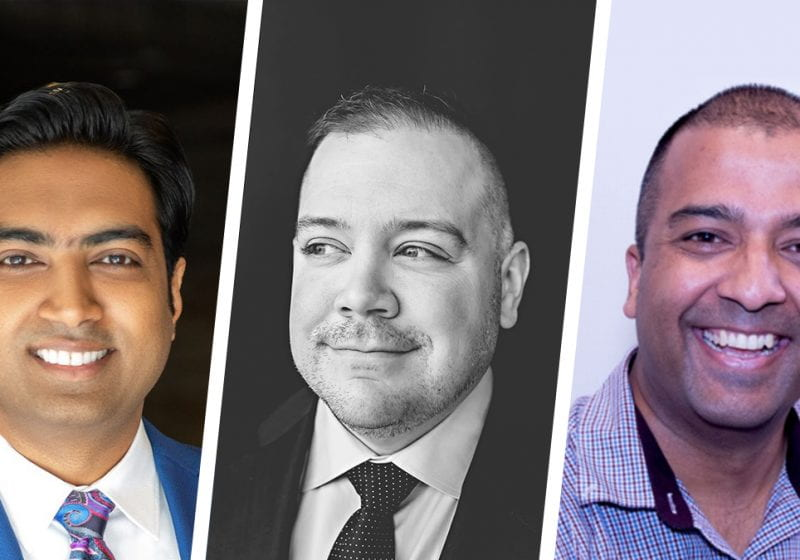 Meet some of the talented leaders who recently joined Kellogg's EMBA Program, including Praveen Singalla, Jordan Hanson and Mayank Sharma (all EMBA 2023).