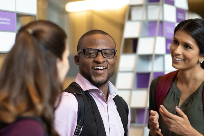 Spirited, collaborative, genuine, diverse. These are just a few of the ways in which Kellogg First-Year MBA students describe their peers.