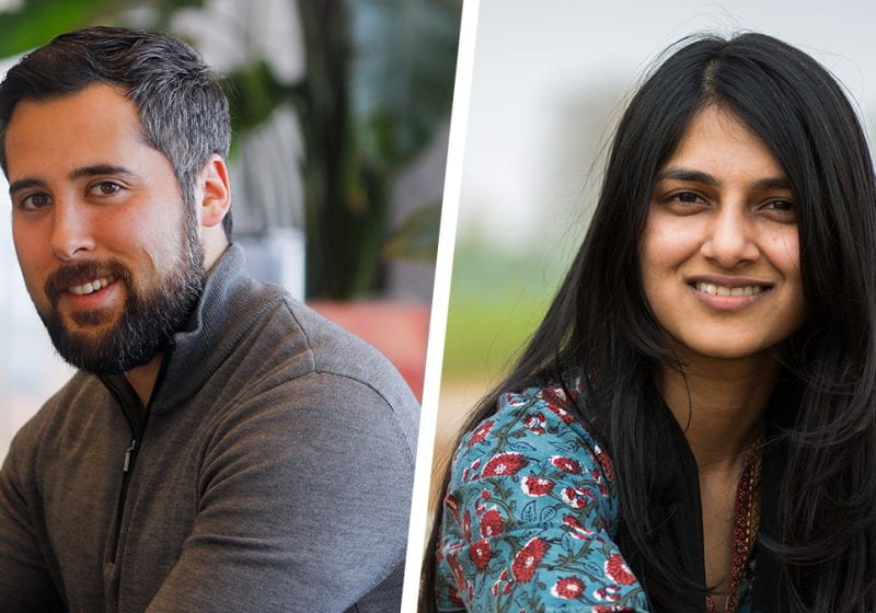 Benjamin Hernandez '13 (Founder & CEO of NuMat Technologies) and Saumya '17 (Co-Founder of Kheyti) discuss their ventures and paths in entrepreneurship.
