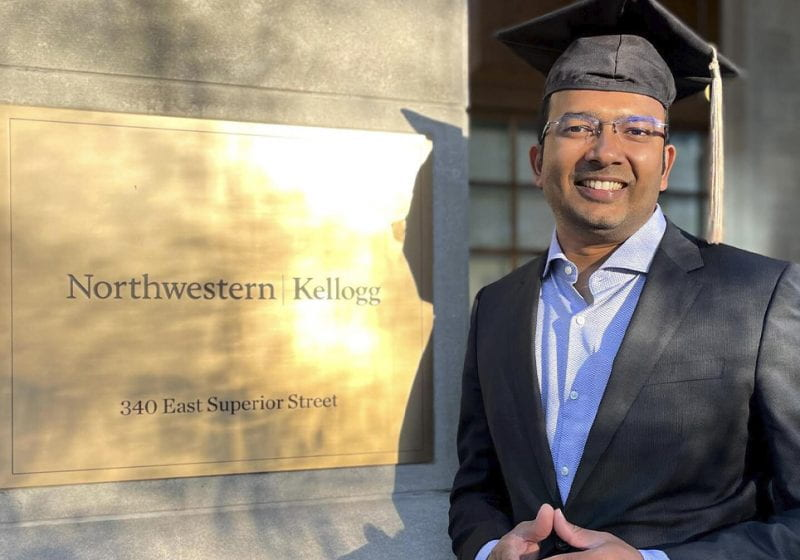 In this series featuring the Class of 2021, Hari Uggini (EW 2021) reflects on his Kellogg MBA experience.