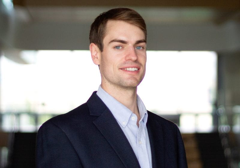 Chris Gunther (2Y 2022) shares how his summer internship at Impossible Foods enabled him to develop a product for market and grow his career in sustainability.
