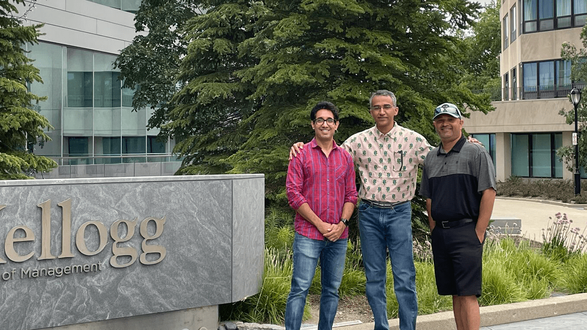 In this series, Abhishek Bhandari (1Y 2022)discusses his background, why he came to Kellogg and what he's looking forward to most this Fall Quarter.