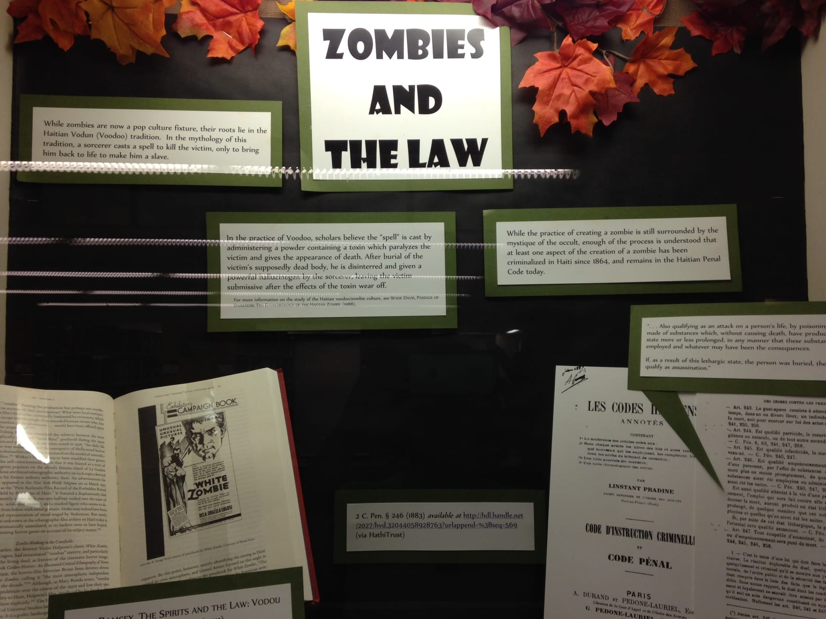 Zombies and the Law