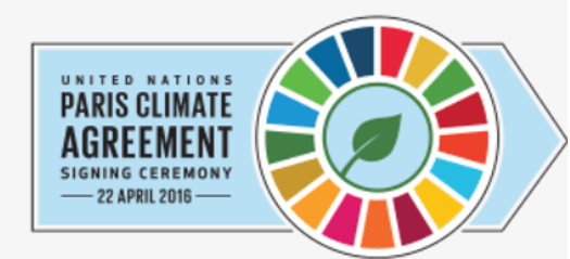 Paris Agreement Signing on Earth Day, April 22