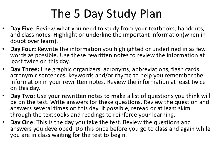 study skills and test taking tips 2 728