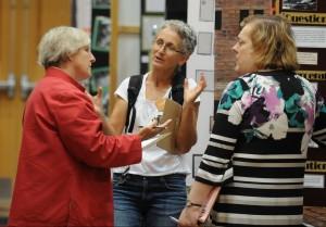 Susan judging NHD 2012