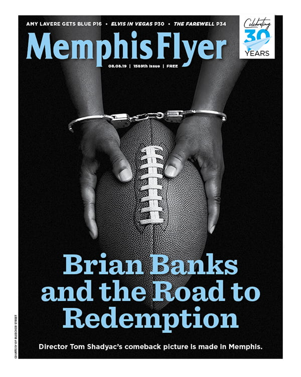 Acclaimed UofM instructor and filmmaker Tom Shadyac was featured in this week's Memphis Flyer cover story for his work on the Memphis-based feature, Brian Banks.