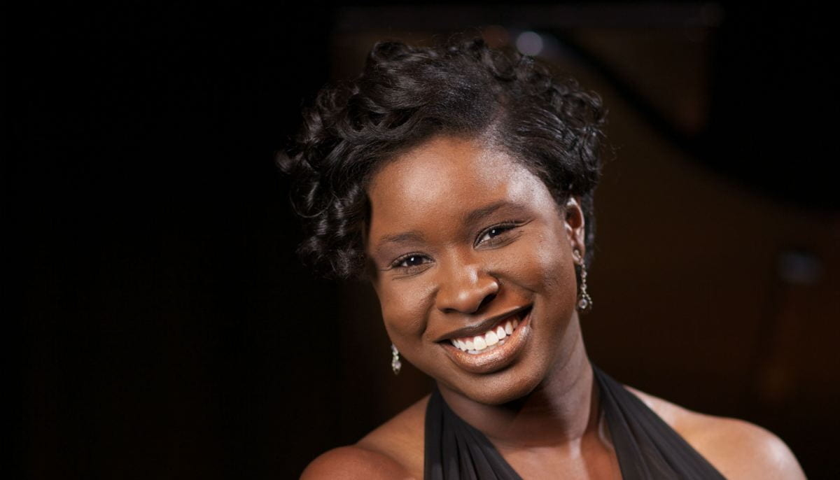 This Sunday, Artina McCain, Coordinator of Piano Studies with the Rudi E. Scheidt School of Music, will perform a series of works from composers like Errolyn Wallen, Jacqueline Hariston, Lena McLin, Margaret Bonds.