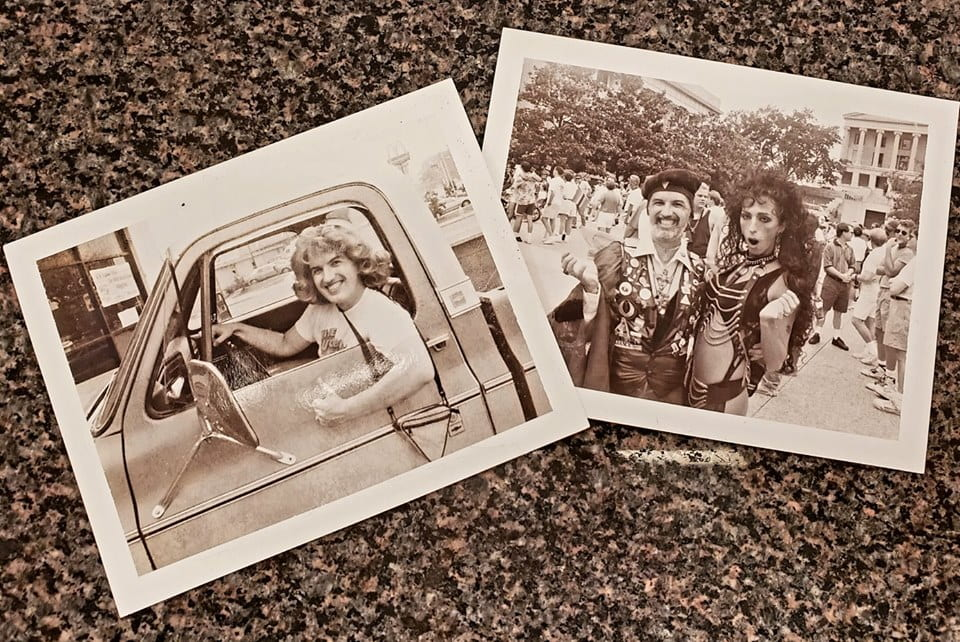 Photos from the LGBTQ+ History archival project at the Ned R. McWherter Library.
