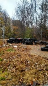 Tire Waste Dump