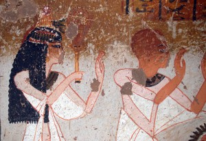 Panehsy and Tarenu, original owners of the tomb