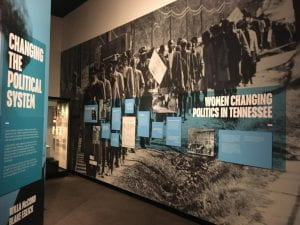 Suffrage Exhibit at Tennessee State Museum