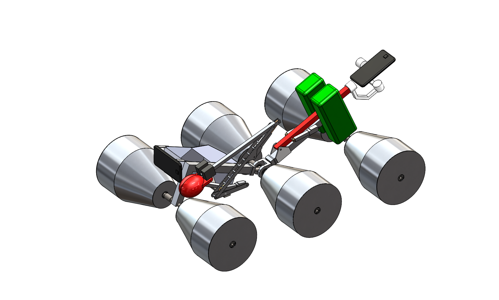 Sooner Rover Team - Standard Isometric View