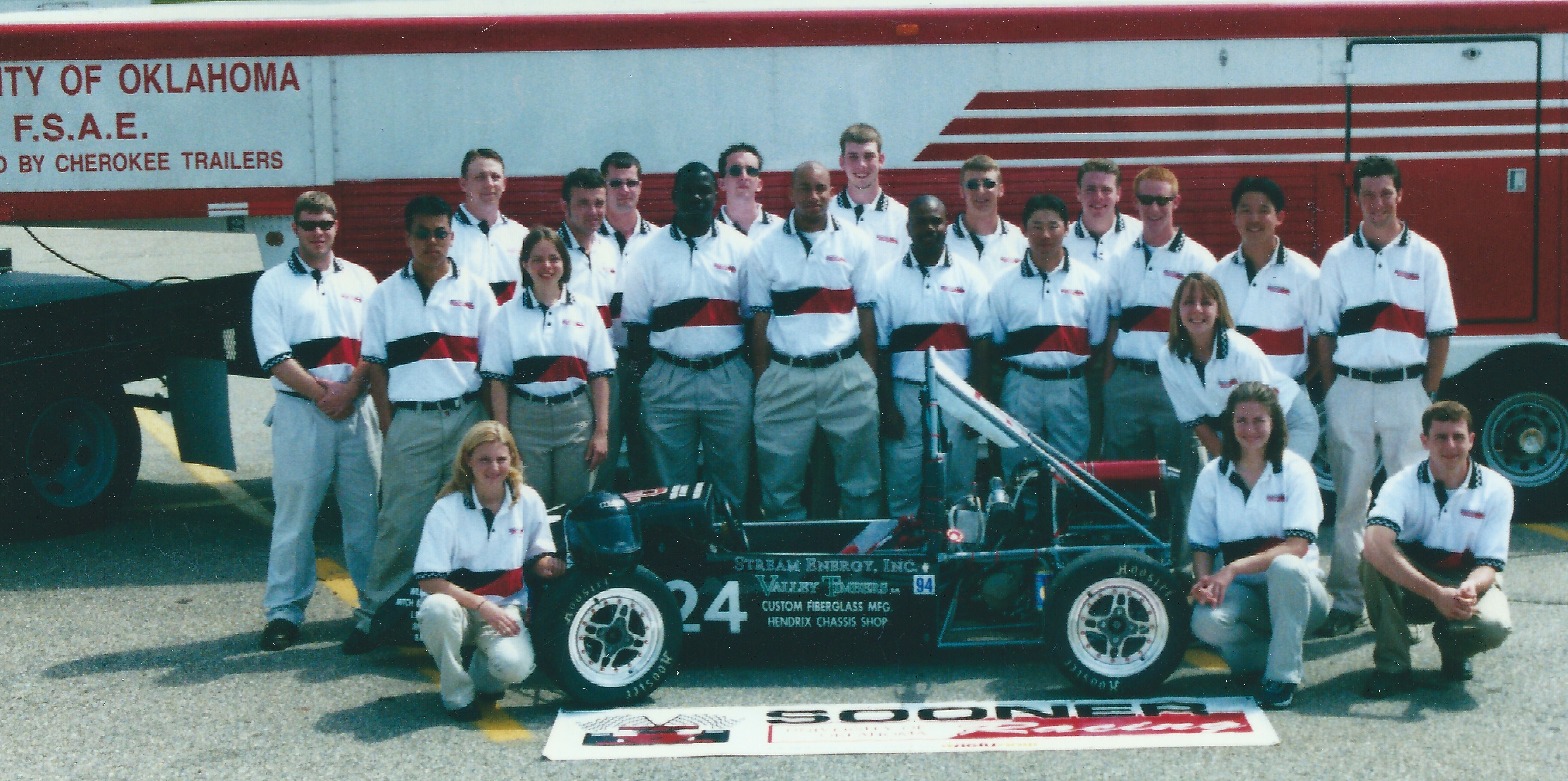 Sooner Racing Team in 2001