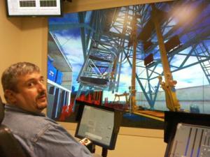 Catalin Teodoriu and the NOV Drilling Simulator