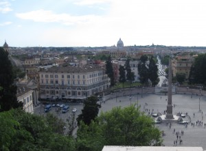 A view of Rome