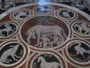 The Floor of the Duomo in Siena