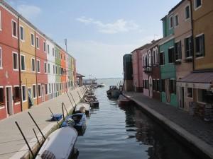 Burano, an island near Venice