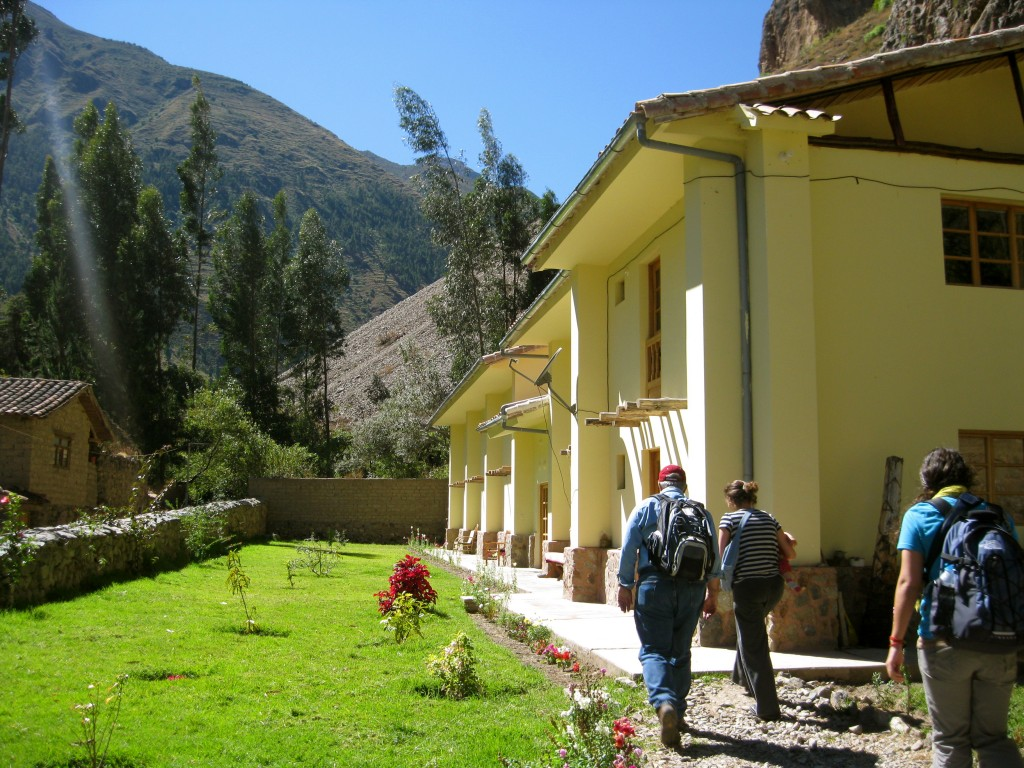 We stayed the night at the Apu Lodge, owned by a sweet family with two precious girls, and had class surrounded by ruins and Inca history.