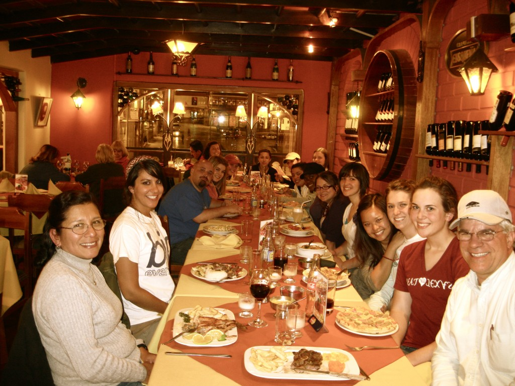 We all enjoyed our meals and had a great time conversing and getting to know each other at our first dinner in Cuzco.