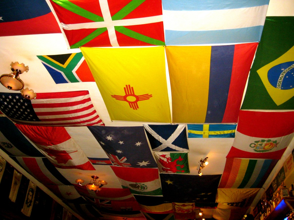 We had dinner at Norton's Pub in the Plaza de Armas. The ceiling of the restaurant is covered in flags from the world, and it has a tiny balcony that looks out to the plaza where people were celebrating the Inti Raymi! Most of us enjoyed hamburgers, grilled chicken sandwiches and fries there.