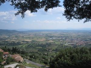 A view of Cortona
