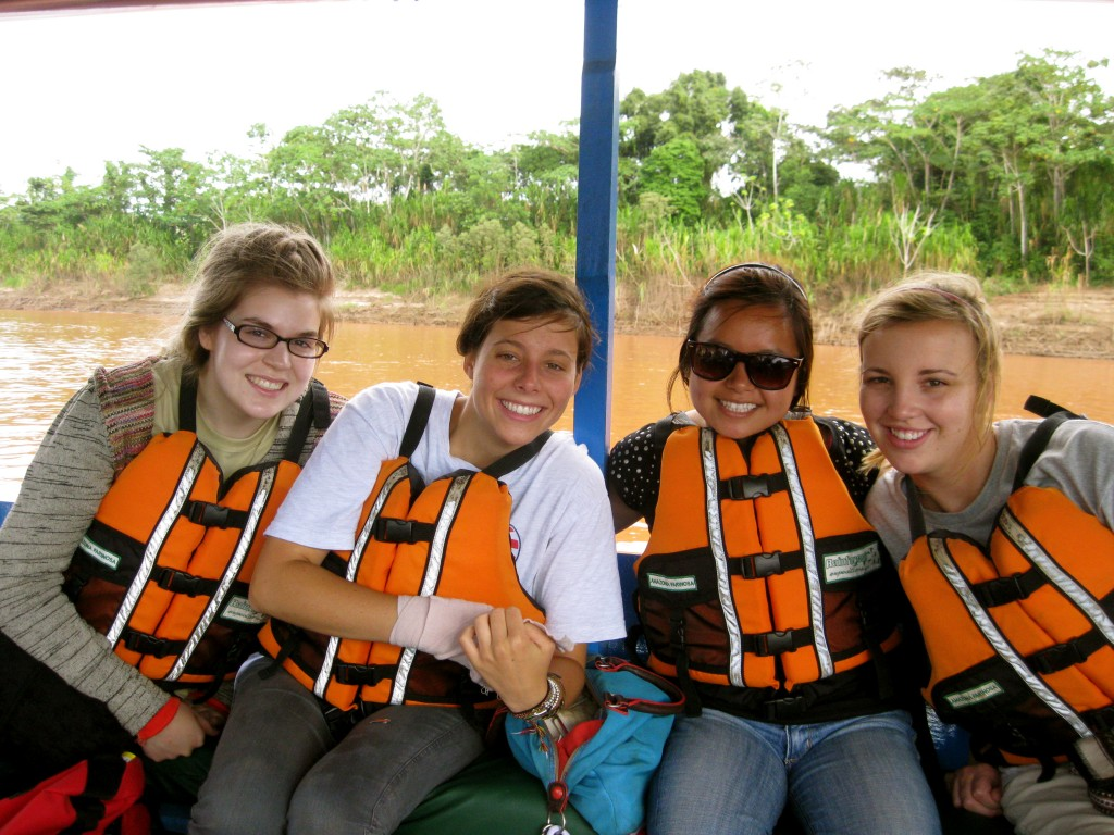 The boat ride was bittersweet and refreshing. For once, I didn't sweat in the Amazon.