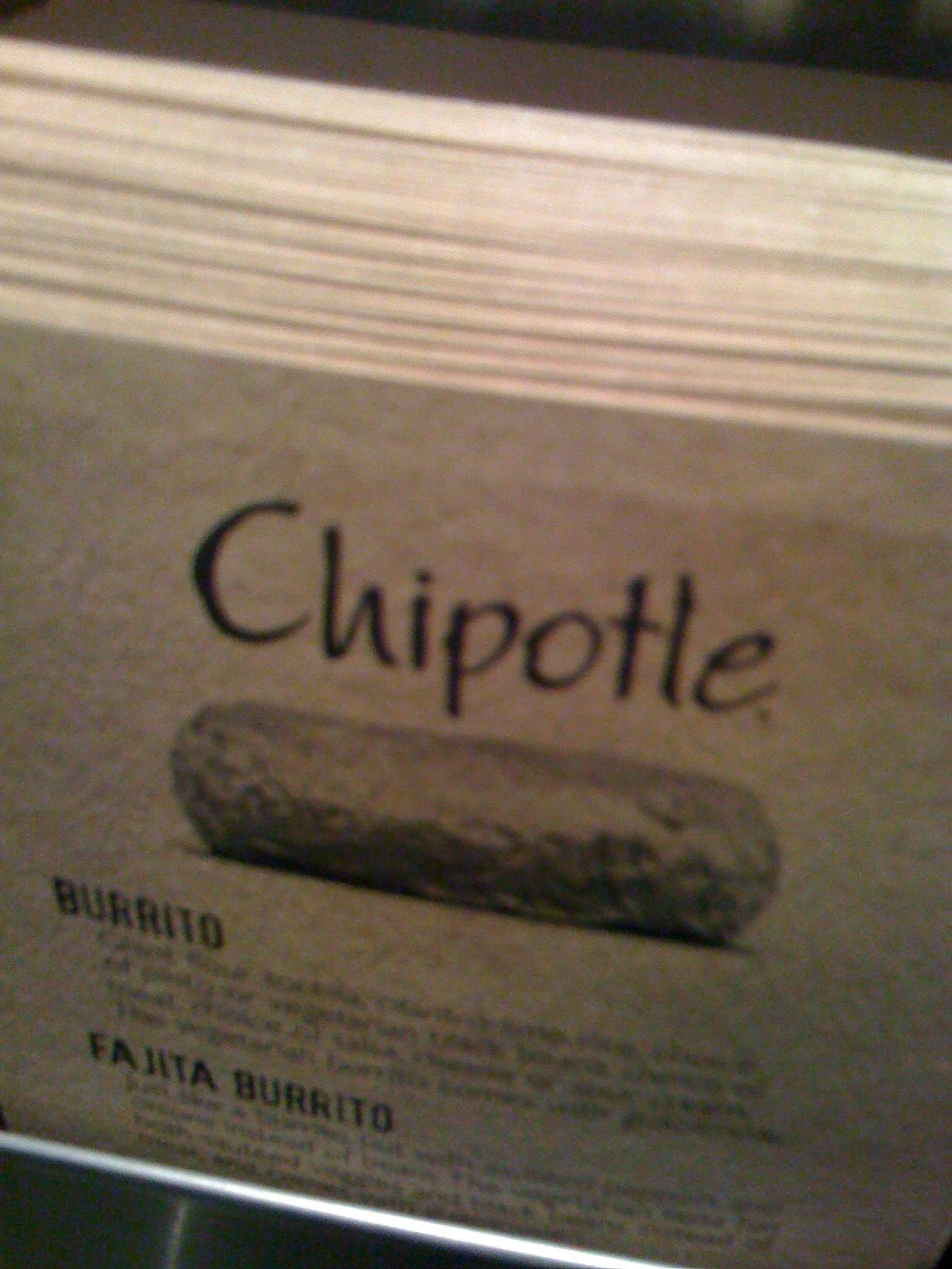 Mmmmm Chipotle Unwind