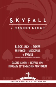 skyfall casino night promotional poster