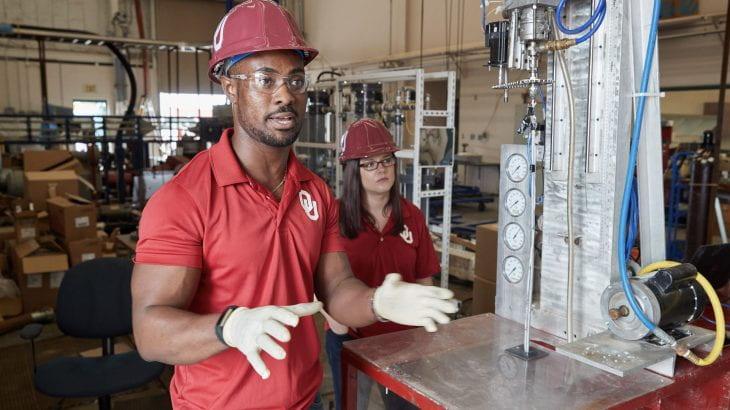 Emmanuel Akita and Savannah Drummond