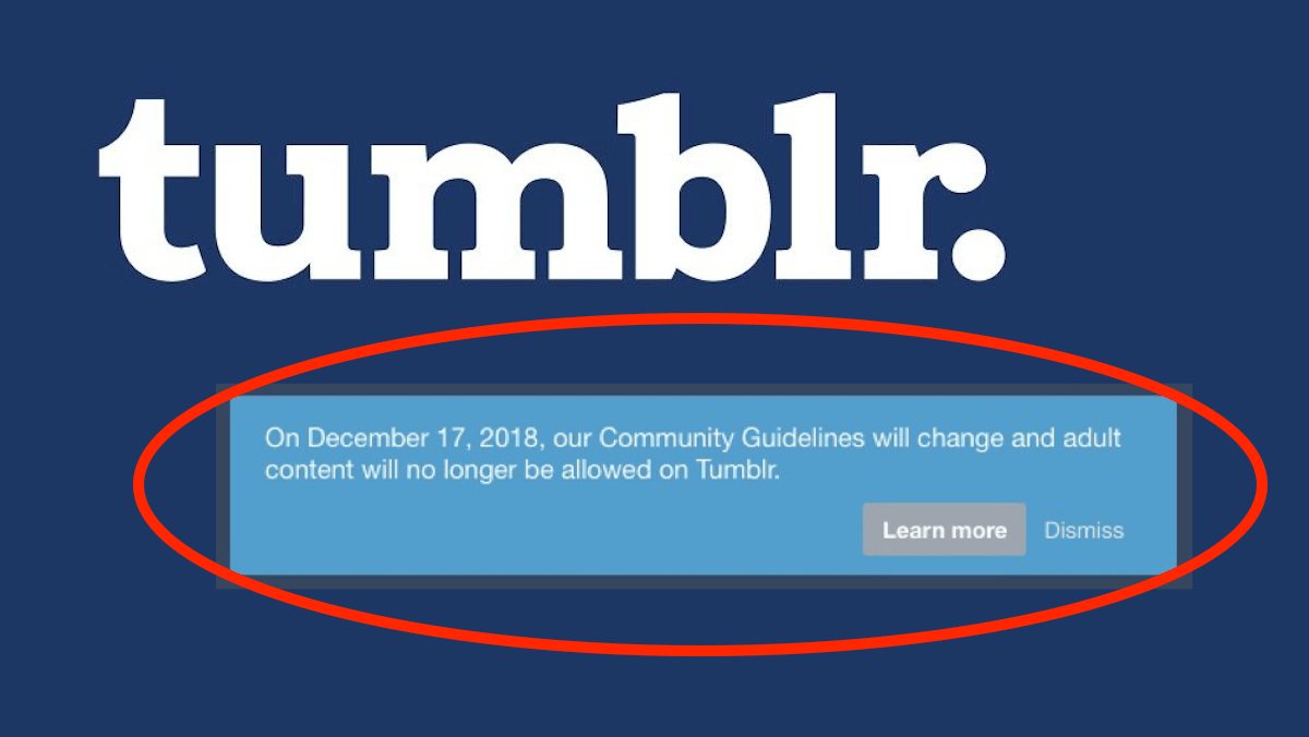Tumblr Soon to Ban all NSFW Content on its Platform