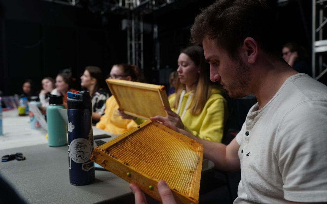 Production Week 6: Coronavirus & A Beekeeper Speaks