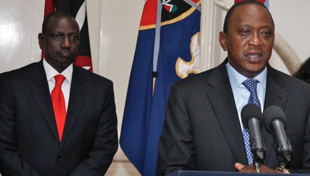 Kenya's President, Uhuru Kenyatta.