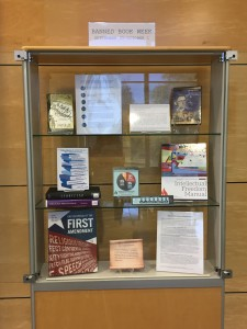 Banned Books Week Book Display