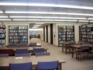 Birnbaum Library - Reading Area