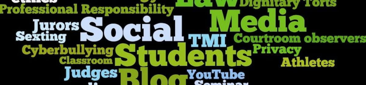 Social Media Legality