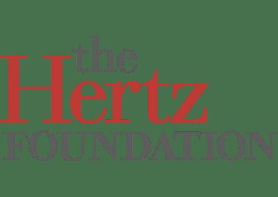 Hertz Foundation Fellowship