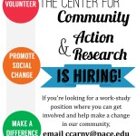 Hiring! Student Media Projects Coordinator Position at the CCARNY