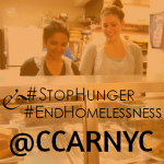 Help #StopHunger & #EndHomelessness This October with CCARNY