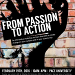 From Passion to Action: Activism Workshops & More