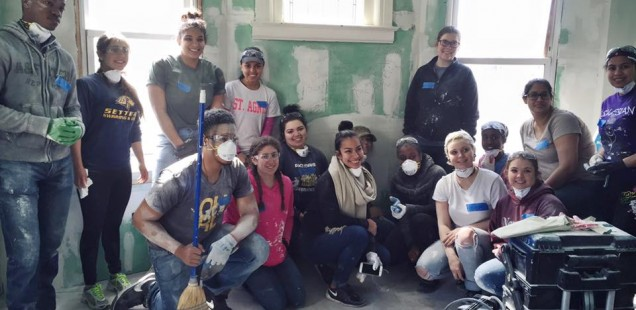"""""""Most importantly, this experience has led me to reflect on life's most persistent and urgent question, which is 'what am I doing for others?'"""" ASB '16 Day 4: Sabrina Vasques, Amanda Godsil, Timothy Martinez, & Emerald Rodriguez"""