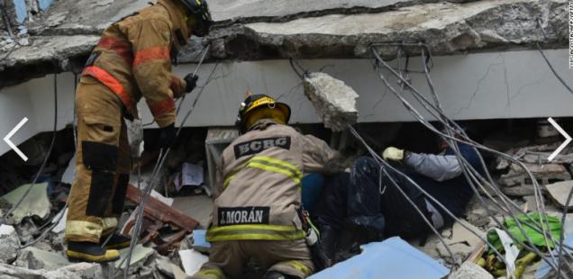 Ecuador and Japan Earthquake Relief