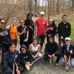 Volunteer At Rockefeller State Park Reflection