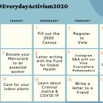 Everyday Activism Challenge 2020